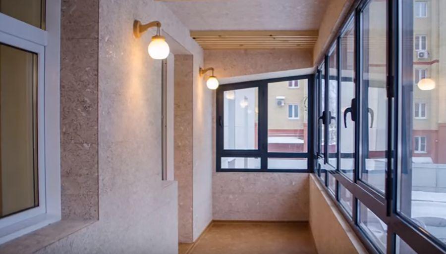 Пробковые панели Чебоксары отделка балкона